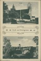 68 WALDIGHOFFEN / Kirche, Teilansicht / - France
