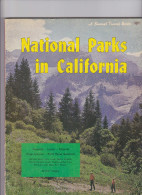 National Parks In California  Sunset Travel Guide - Géographie