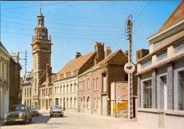 CP La Gorgue - Nord - Rue De L'Eglise - France