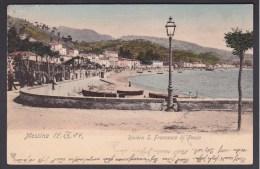 Messina. Riviera S. Francesco Di Paolo - Messina