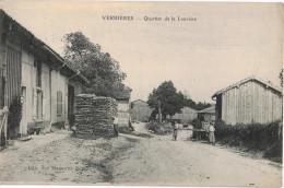 Carte Postale Ancienne De  VERRIERES - France