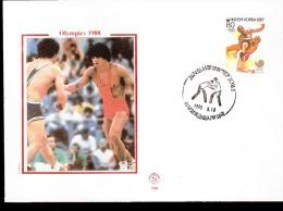 SEOUL OLIMPIC GAME  1988 LOTTA ANNULLO SPECIALE - Lotta