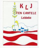 Autocollant Sticker KLJ Ten Cantele Lebbeke - Autocollants