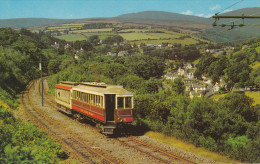 Laxey Valley And Snaefell, ISLE-OF-MAN, UK, 1940-1960s - Isle Of Man