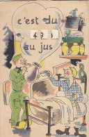 Carte à Système - Militaria - Humoristique - Classe - Cartoline Con Meccanismi