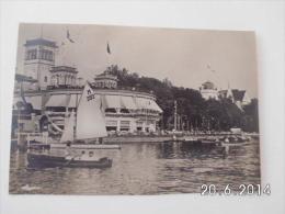 Hamburg. - Uhlenhorster Fährhaus. (18 - 8 - 1931) Luftpost - Blankenese
