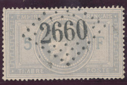 N°33 LOSANGE GRANDS CHIFFRES A VOIR!!!!!!!!!!!!!! - 1863-1870 Napoleon III Gelauwerd