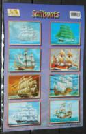 Sticker Autocollant Sailboats - Boats