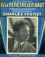 De La Fenêtre D'en Haut Par Charles Trénet (partition) - Musique & Instruments