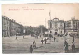 POSTAL    BARCELONA  - RAMBLA SANTA MÓNICA   (ROVIRA S.A.) - Barcelona