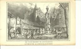 Anvers - Le Marché Aux Poissons - Namen