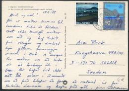 1978 Iceland Reykjavik Postcard - Solna, Sweden - 1944-... Repubblica