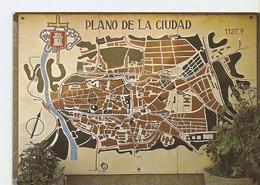 Postal 025163 : Plano De La Ciudad. Avila - Cartes Postales