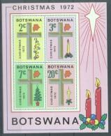 Botswana 1972 Christmas, Religion, Perf.sheet, MNH E.190 - Botswana (1966-...)