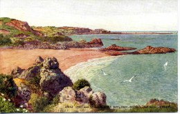 SALMON ART CARD - HOWARD - 1937 - ANNE PORT AND ST CATHERINE'S BAY, JERSEY - Jersey