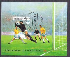 Sahara OCC R.A.S.D 1998 Sport, Football, Soccer, Perf. Sheet, Used AB.024 - Etichette Di Fantasia