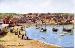 SALMON ART CARD - HOWARD - 4172 - THE HARBOUR, ST IVES - St.Ives