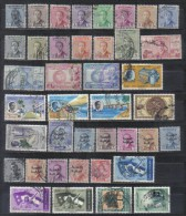 Irak Lot Of 40 Older Stamps From Years 1954 -1959 FU - Iraq