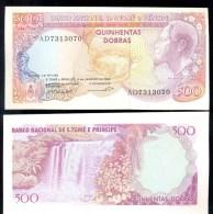 ST THOMAS & PRINCIPE * 500 DOBRAS * P 61 YEAR 1989 * UNC BANKNOTE - San Tomé Y Príncipe
