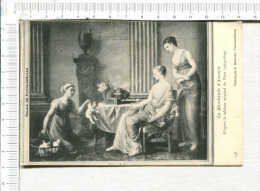 LA MARCHANDE D AMOURS  -  D Après Tableau Original De  VIEN    ( 1719-1809 )  - Palais De FONTAINEBLEAU - Peintures & Tableaux