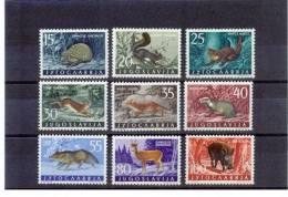 Jugoslawien / Yugoslavia / Yougoslavie 1960 Michel 917-925 Tiere / Animals Postfrisch / Unmounted Mint - Yougoslavie