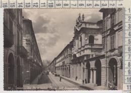 Torino  Via Po  E Nuova Chiesa Dell'annunziata  Tram Tramway 1942 - Italie