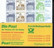 Markenheftchen 11 K Berlin Postfrisch ** MNH - Markenheftchen