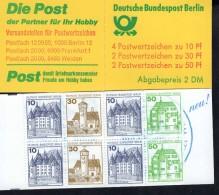 Markenheftchen 11 F Berlin Postfrisch ** MNH - Blocchi