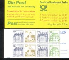 Markenheftchen 11 Eb Berlin Postfrisch ** MNH - Markenheftchen