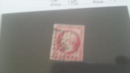 LOT 212422 TIMBRE DE FRANCE OBLITERE N�17B VALEUR 55 EUROS