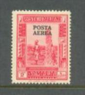 1936 SOMALIA (ITALIAN) 2L. POSTA AEREA OVERPRINTED - AIRMAIL MICHEL: 183C II MNH ** - Somalia