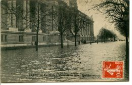 75008 PARIS - Crue 1910 - Inondation Du Grand Palais, Avenue D'Antin - Distrito: 08
