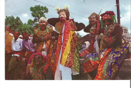Mask Dancers Of Bali. Temple Dances Are Performed To Please The Deities  Indonesia - Indonesia