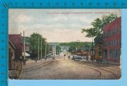 "Sherbrooke Quebec ( Streetcar Tramway Sur La Rue King ""COVER Bishop Crossing . 1908  )  2 SCAN - Sherbrooke"