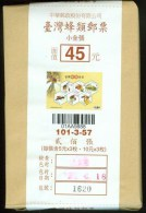 Original Pack 200 Pieces-Taiwan 2012 Bees Stamps S/s Bee Insect Fauna Flower Hexagon Unusual - Collections, Lots & Series