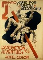 Cartel Affiche Poster Guerra Civil Española 20x13 Cm. Aprox. REPRODUCTION - Patrióticos