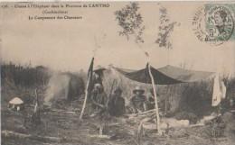 COCHINCHINE ( Chasse A L'elephant Campement Des Chasseurs ) - Postcards
