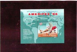 1986 -  Expo Philatelique Mi Bl 227 Et Yv Bf  184 MNH - 1948-.... Republiken