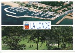 La Londe Les Maures Multivues : Le Port Miramar - Le Golf De Valcros - Aérienne Guy Borens - La Londe Les Maures
