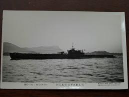 """"""" REDOUTABLE """" Sous - Marin / Anno 19?? ( Fotokaart / Zie Foto Voor Details ) !! - Sous-marins"""