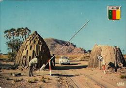 Pk Douala:50:Entrance Of The Camp Of Waza - Cameroun