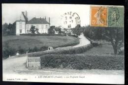 Cpa Du 85  Les Essarts  La Propriété Guyet   TRIS17 - Les Essarts