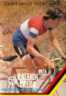 JOHAN VAN DE VELDE . PROFESSIONAL RACING TEAM . RALEIGH CREDA - Cycling
