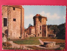 78 - Chevreuse - Château De La Madeleine - Partie Ancien Donjon Barlong Puits Et Grosse Tour - Scans Recto-verso - Chevreuse