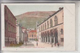 HR 20000 DUBROVNIK / RAGUSA, Stradone E Palazzo Del Rettori, Ca. 1905 - Kroatien