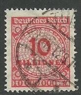 Deutsches Reich 1923 Michel 318 A O - Duitsland