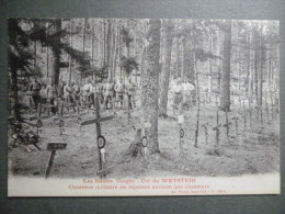 68 ORBEY  -  Col Du Wettstein - Cimetière Militaire Où Reposent Environ 900 Chasseurs - Orbey