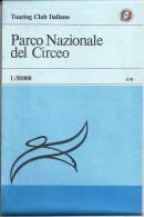 PARCO NAZIONALE DEL CIRCEO 1:50.000, Touring Club Italiano, TCI, 1982 - Carte Geographique