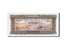 [#350256] Cambodge, 50 Riels Type 1956-1958, Pick 7d - Cambodja