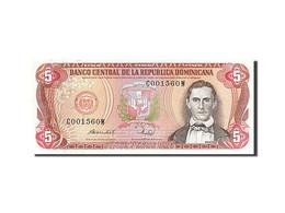[#255696] République Dominicaine, 5 Pesos Oro, Type Sanchez - Billets